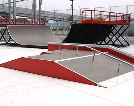 スポーツパークまつばらスケートボード練習場