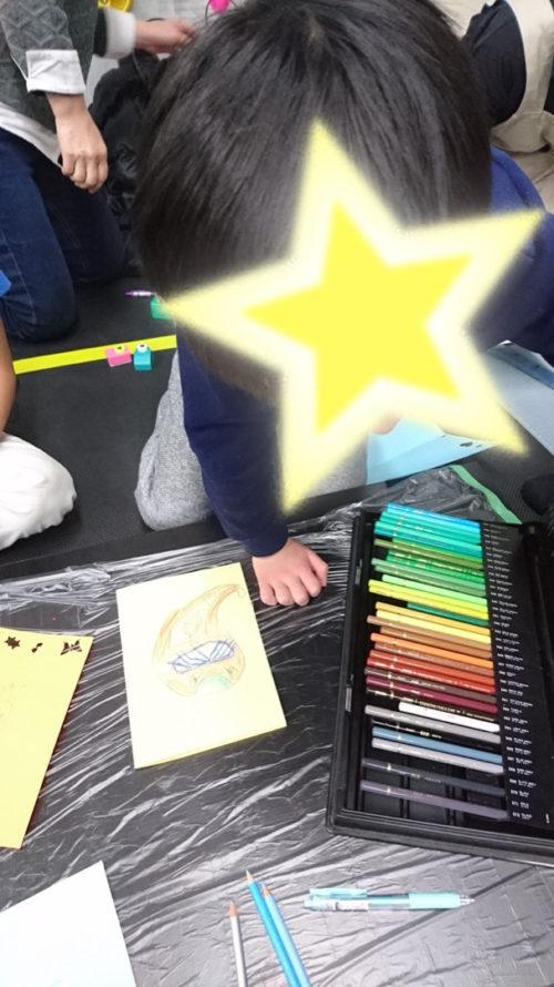 色とりどりの色鉛筆