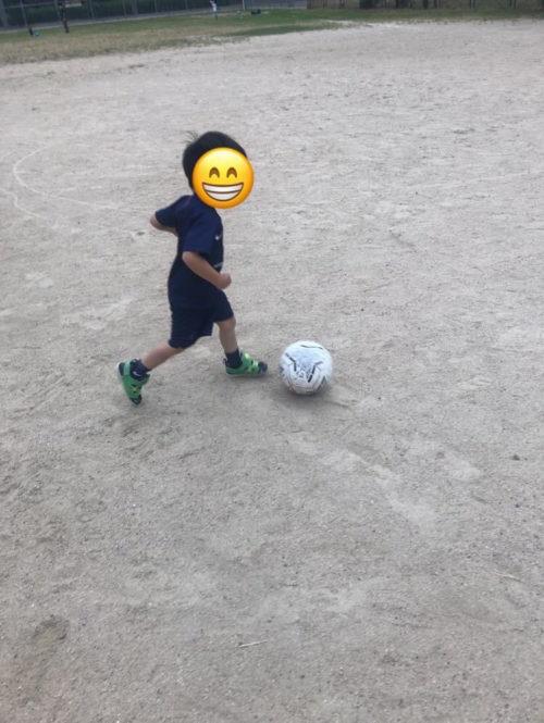 サッカードリブル練習3