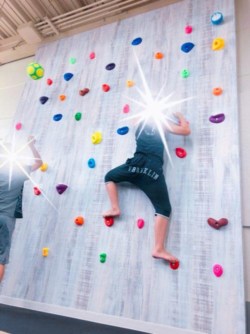 運動療育のきらめきボルダリング