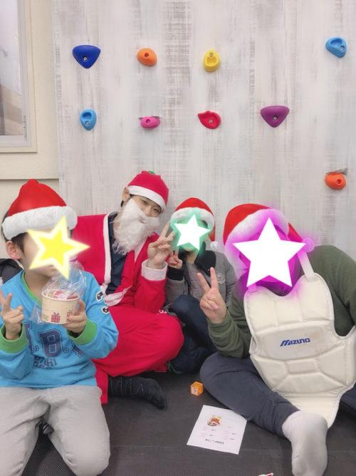 運動療育のきらめきクリスマス