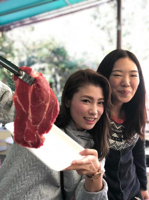 大きいお肉