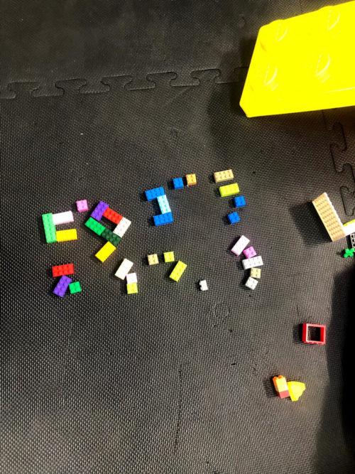 レゴでピタゴラスイッチ