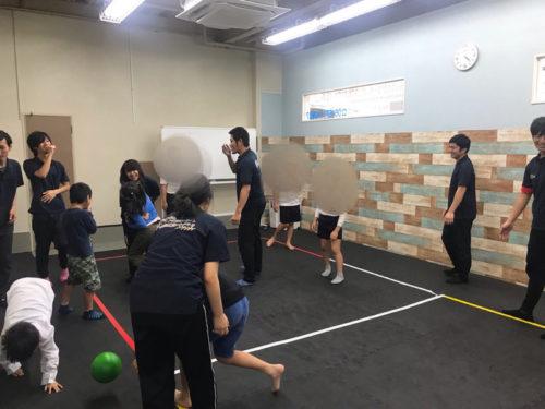 運動療育のきらめきの活動の様子