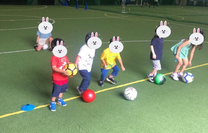 フットメッセ生野でサッカー練習