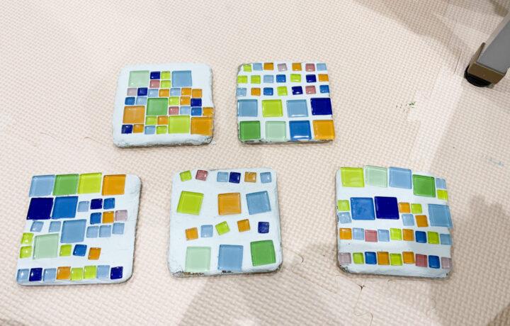 ガラスタイル製作